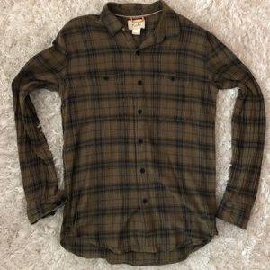 Flannel Plaid Long-Sleeve Shirt